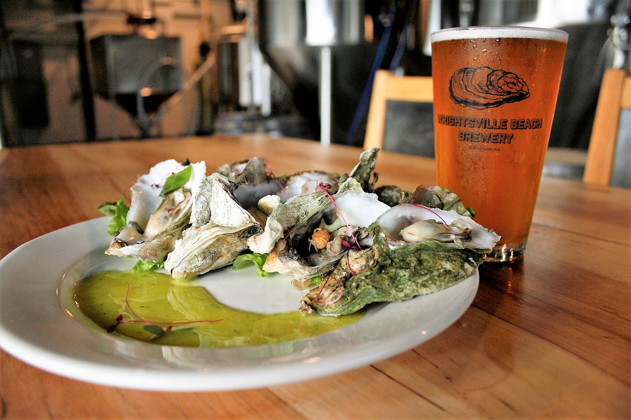 Wrightsville Beach Brewery:  Beers on Tap !