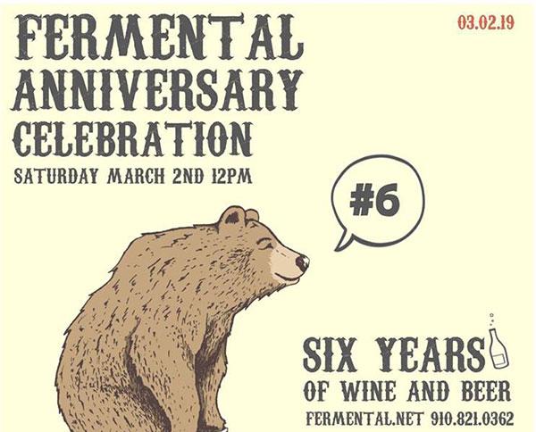 Fermental 6 Year Anniversary