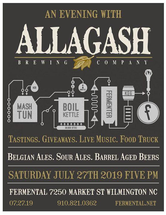 Wilmington Ale Trail - An Evening With Allagash Brewing: Fermental